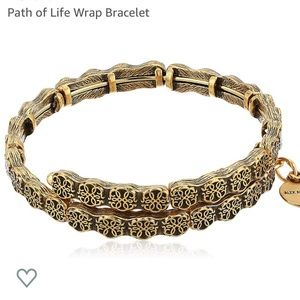 Alex and Ani Path of Life Wrap Bracelet gold